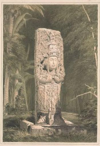 Catherwood's beautiful illustration of Stela H