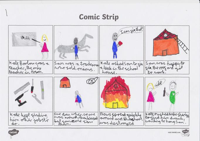 A great comic strip from Harry