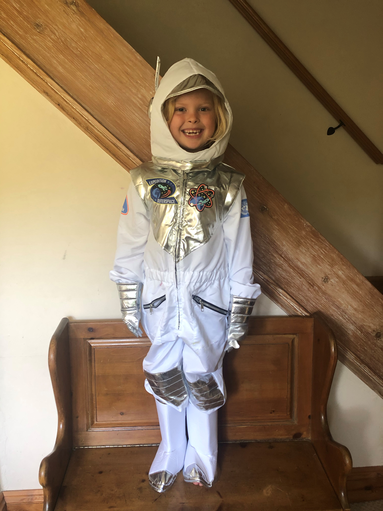 Can't wait to hear about the space adventure!