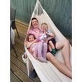 Relaxing in the hammock!