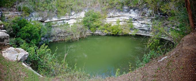 The Sacred Cenote, north of El Castillo