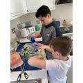Making Playdough!