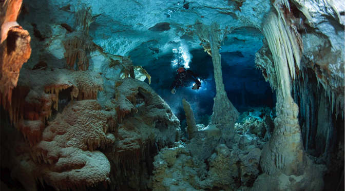Cave divers risk their lives to find key artefacts