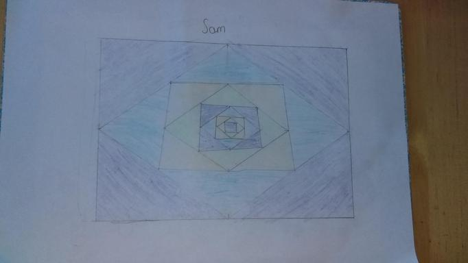 Sam began with squares - I wonder what he noticed?