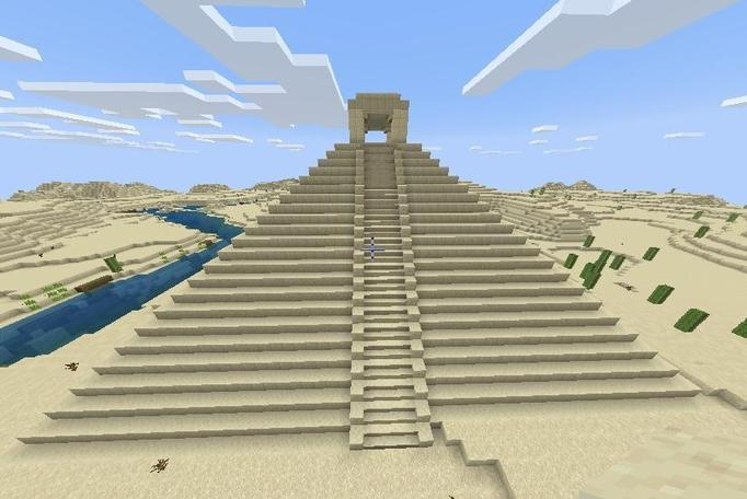 Claudia has also been busy on Minecraft.