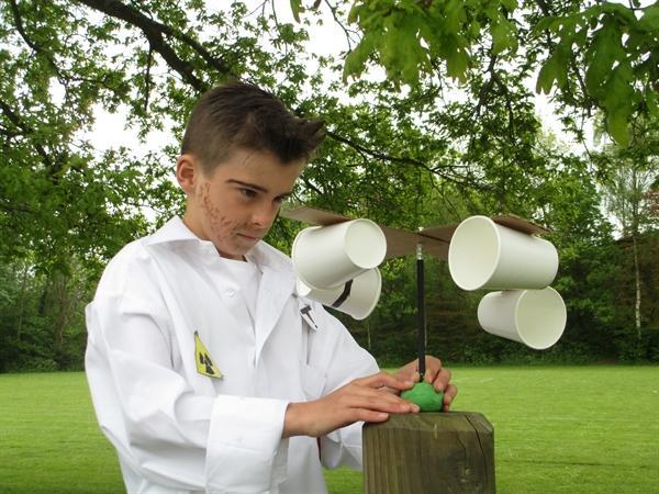 Science week - making and using anemometers