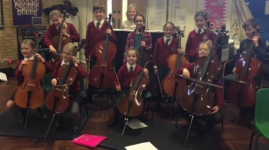 Cello Assembly December