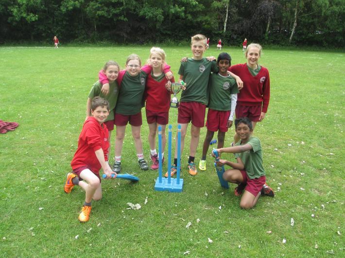 K2 Winners of the Interhouse Cricket