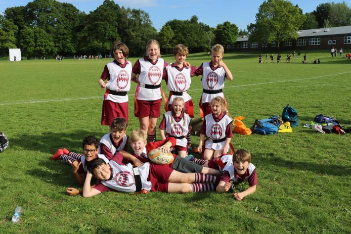 Sevenoaks Tag Rugby Festival A Team - May '19