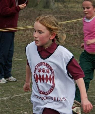 Cross country competitor