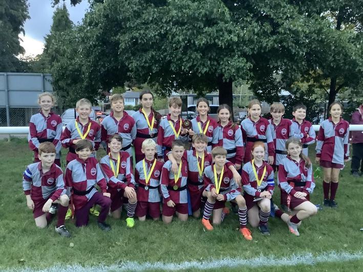 Sevenoaks Tag Rugby Festival winners Oct 2021
