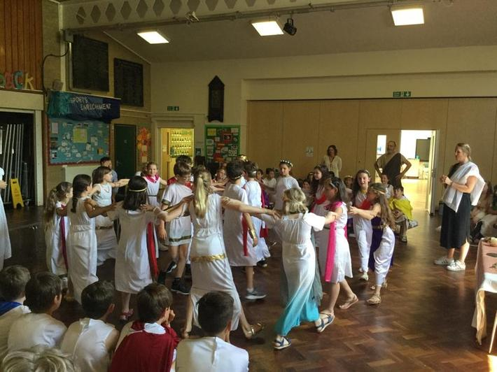 Year 5 Greek Day