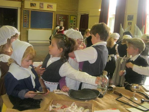 We had great fun learning about the great Fire of