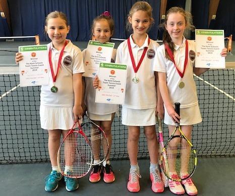 Girls 'Red' Tennis Winners - May '19