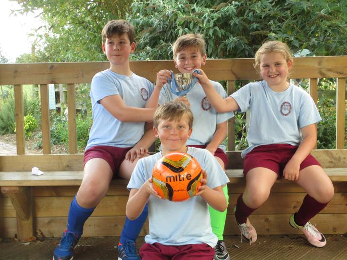 Interhouse Football Winners