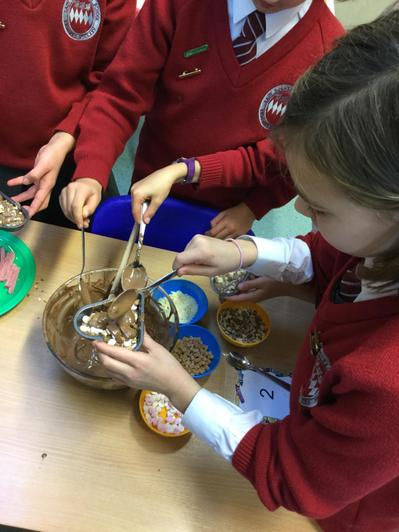 Year 5 DT - chocolate creations