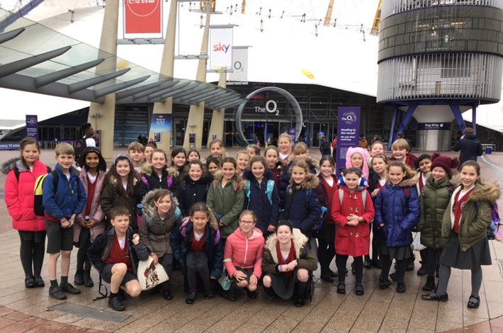 Choir at O2 Young Voices Concert - February 2019