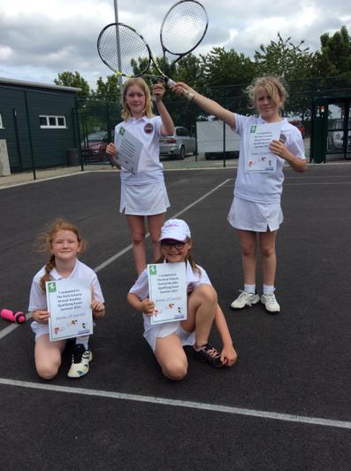 Orange Girls Tennis