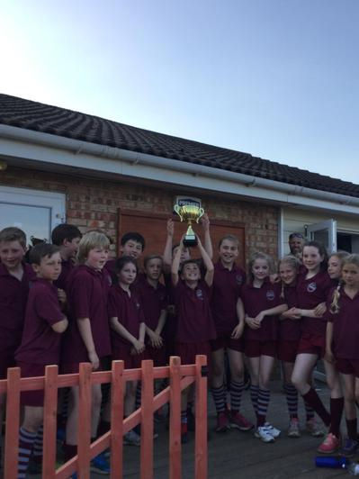 Sevenoaks Tag Rugby Winners May 2017