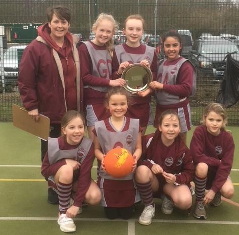 S'oaks District Netball - Plate Winners March 2018