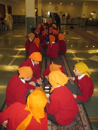 Year 6 Trip to Gurdwara