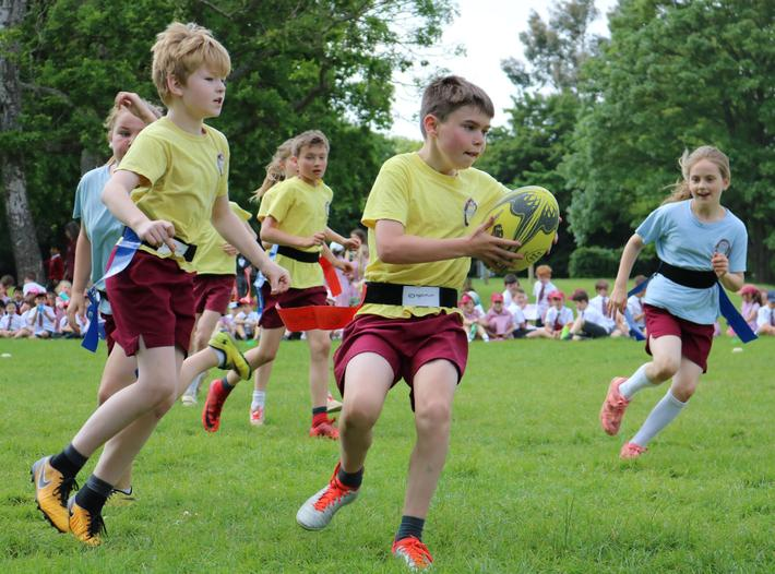 Interhouse Tag Rugby Competition