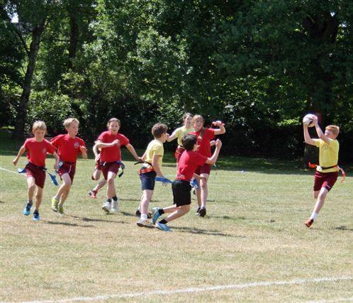 Interhouse tag rugby