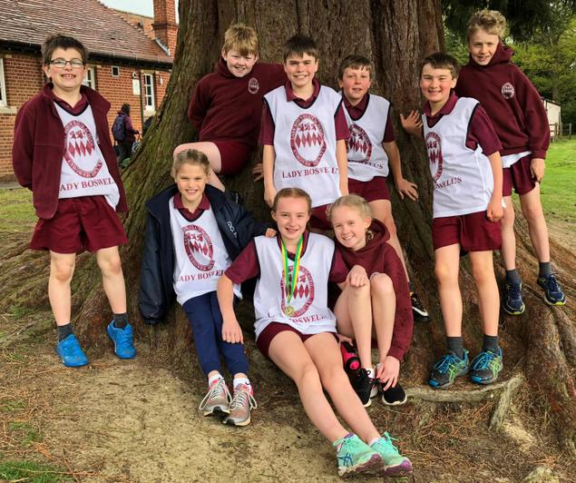 Year 6 & 5 Cross Country Team - April 2018