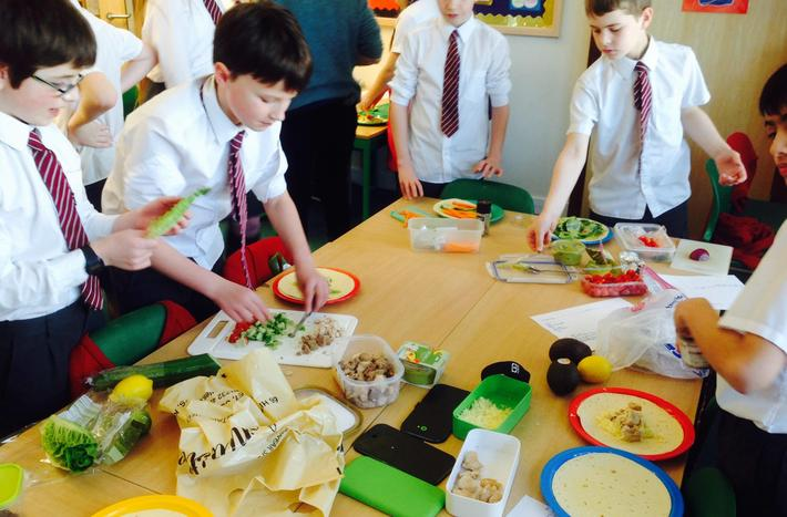 Year 6 DT - Mexican food creations