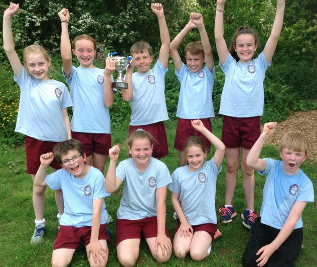 Interhouse Tag Rugby Winners - Everest