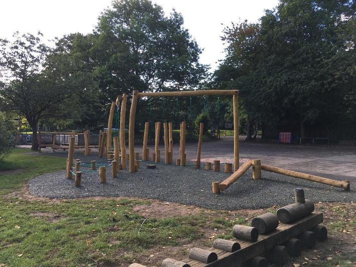 Trim Trail funded by PTA opened in September 2017