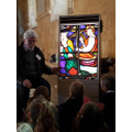 Learning about stained glass