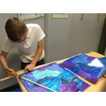 We created our own works ... on silk