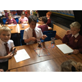 Understanding shape using straws.