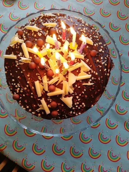 Mr Ledger's yummy cake!