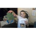 Steven's dinosaur.