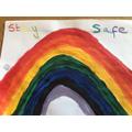 Mrs Salter'a rainbow