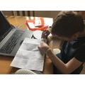 Oliver investigating texture