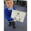 George mastered the part, part, whole model in provision. I was very proud!