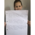Harriet's amazing acrostic poems about her family.