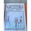 Jessica drew her family