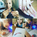 Mollie's amazing nail art!