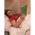 Lovely to see Skyla enjoying reading.