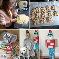 Amy has been baking and completing junk models
