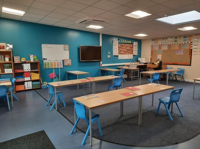 Mr L-D's classroom
