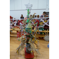 Winning Recycled Christmas Tree