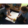 Making maps to practise using directional language.