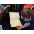 Using the index to find information.