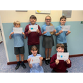 Our first group of Y5 Bikeability achievers this year!