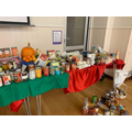 Our Harvest table